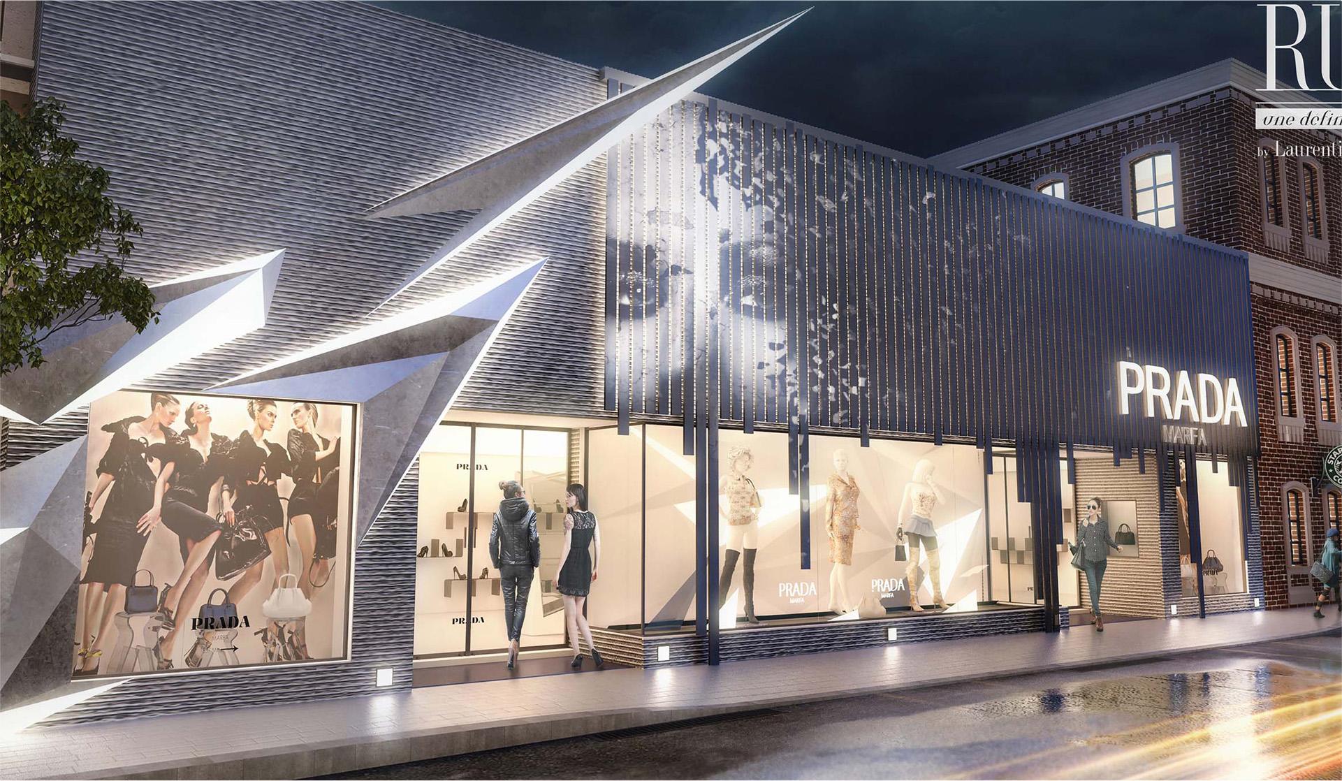 Prada Store Design